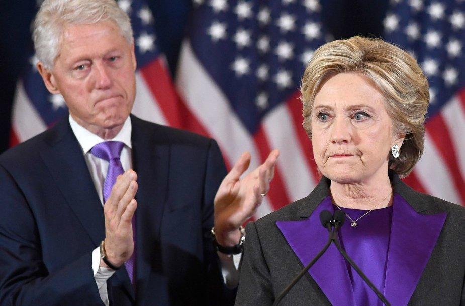 Hillary ir Billas Clintonai