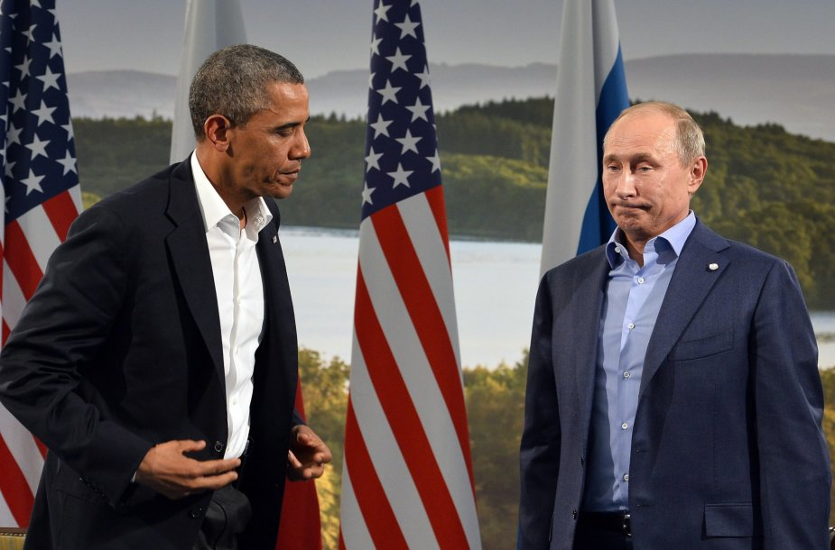 Baracko Obamos ir Vladimiro Putino susitikimas