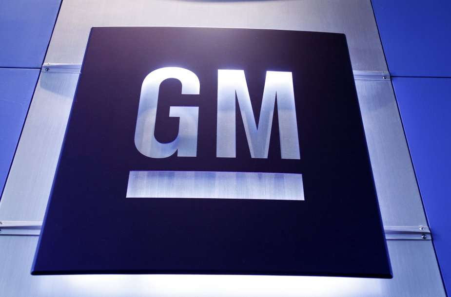 """General Motors"" logotipas"
