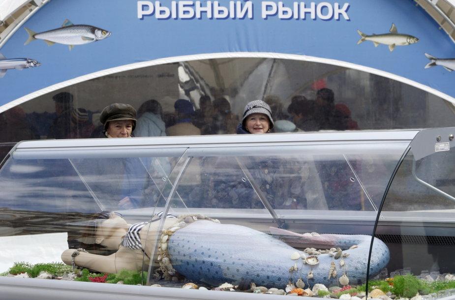 Žuvies turgus Maskvoje