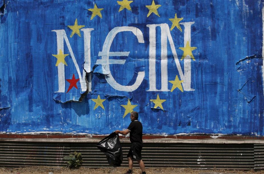 Grafitis Atėnuose
