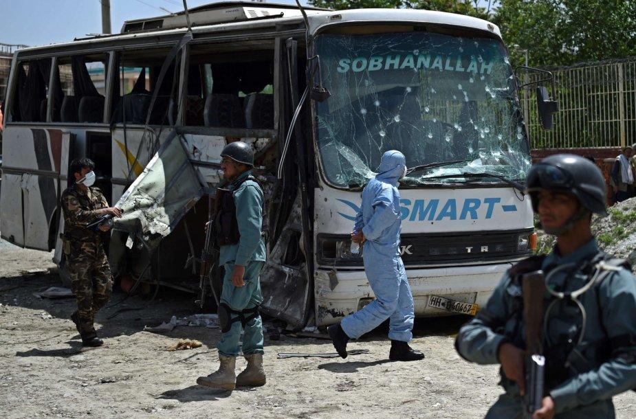 Sprogimas Afganistane.