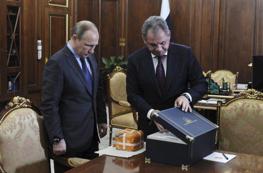 Maskva perėmė Rusijos karinių oro pajėgų lėktuvo, kurį praeitą mėnesį numušė Turkija, juodąją dėžę