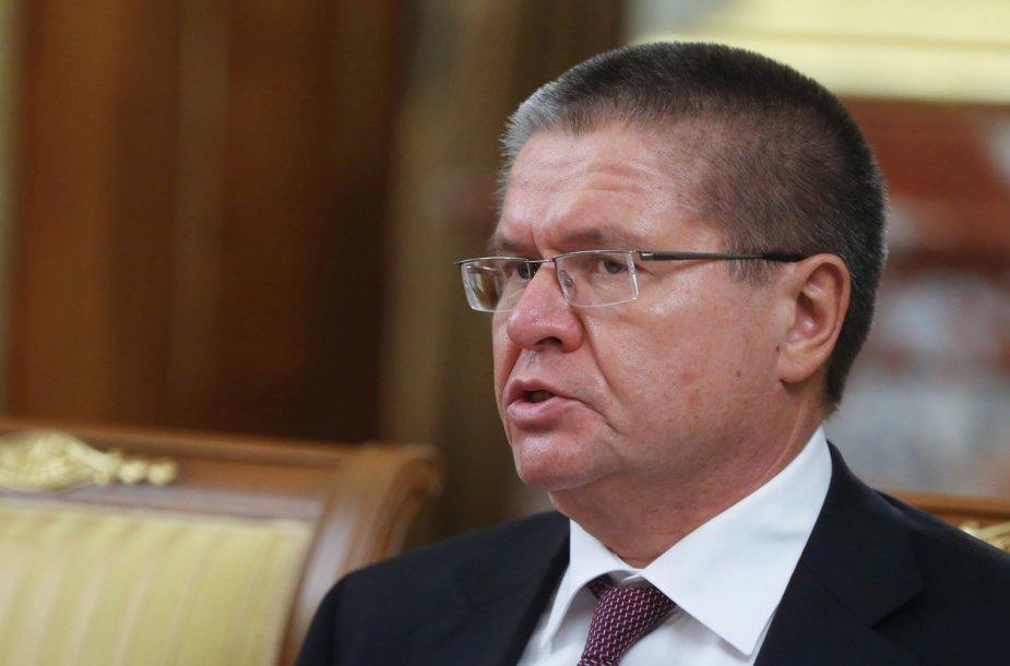 Rusijos ekonomikos plėtros ministras Aleksejus Uliukajevas