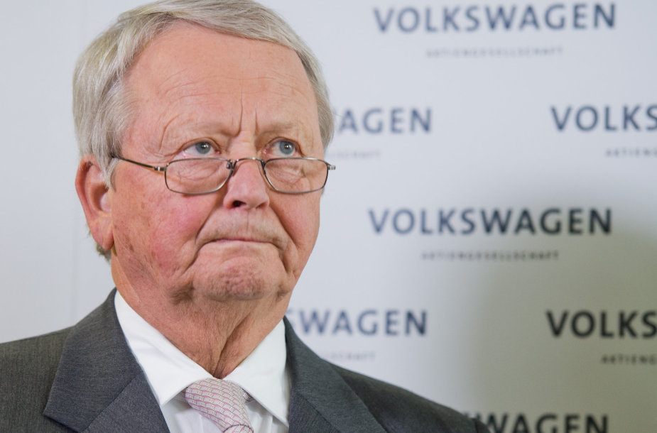 """Volkswagen"" vadovas Martinas Winterkornas"