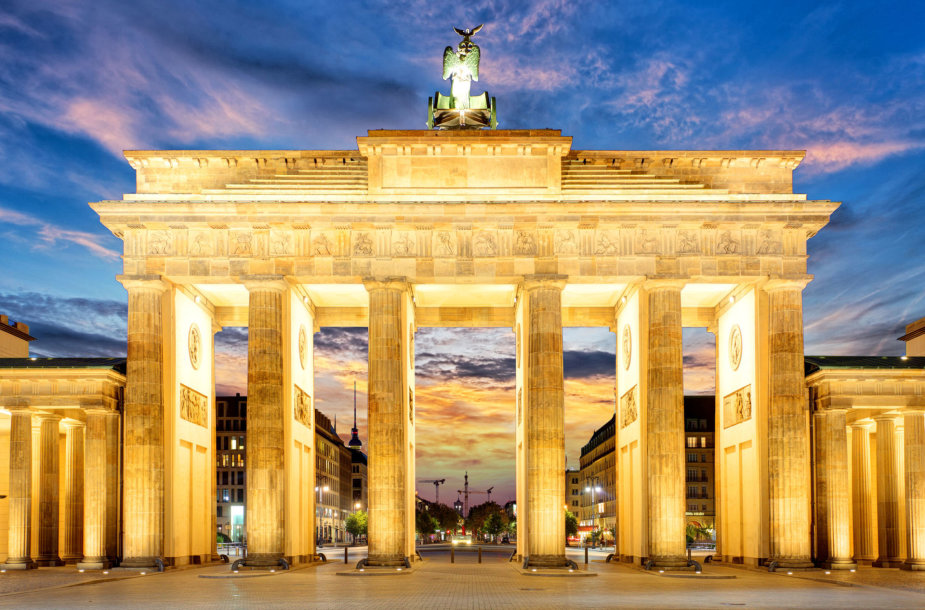 Brandenburgo vartai Berlyne