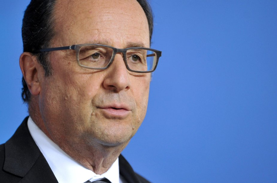 Francois Hollande'as