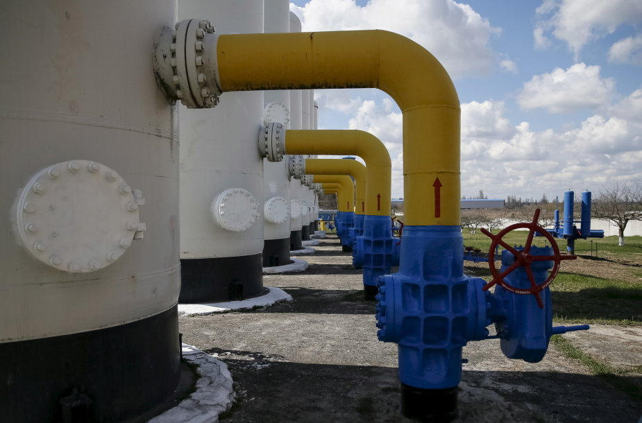 Nuo liepos 1 d. Ukraina sustabdė rusiškų gamtinių dujų pirkimą