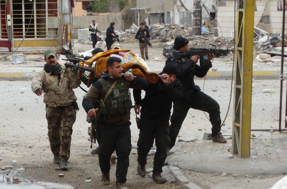 Irako Anbaro provincijos Hadisos regione žuvo mažiausiai 25 irakiečių kovotojai