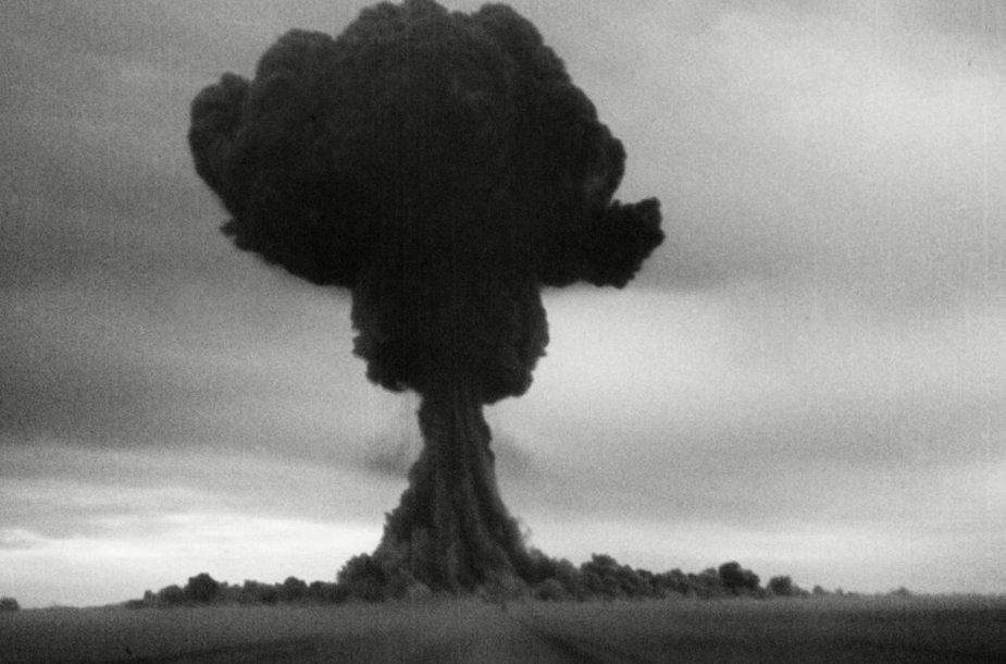 Semipalatinsko branduolinis poligonas Kazachstane