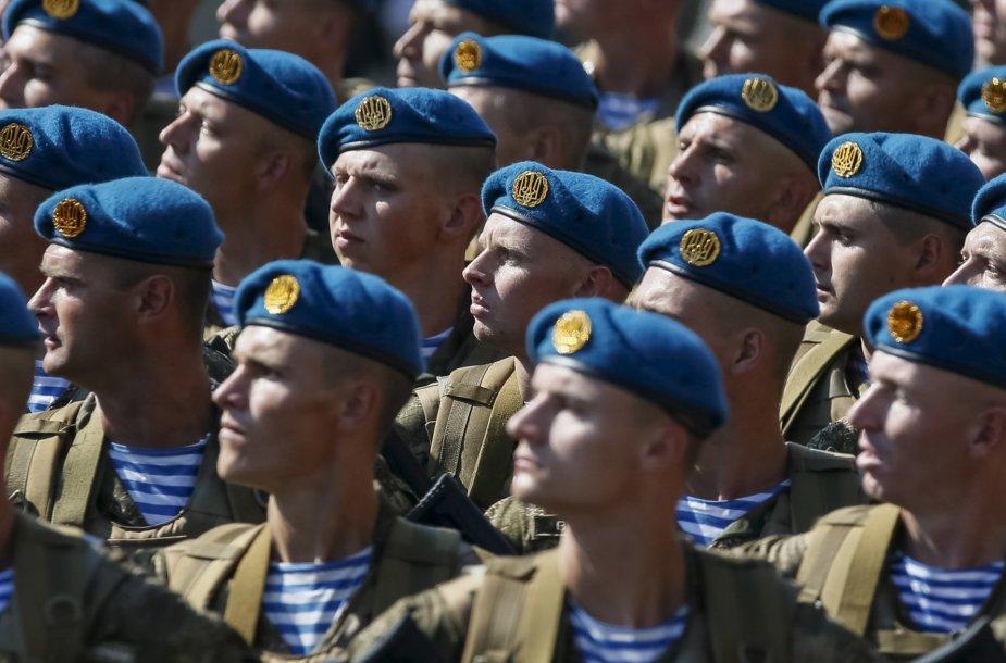 Ukrainos nepriklausomybės dienos minėjimas Kijeve