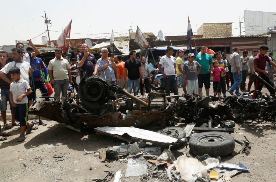 Sprogdinimas Irako sostinėje