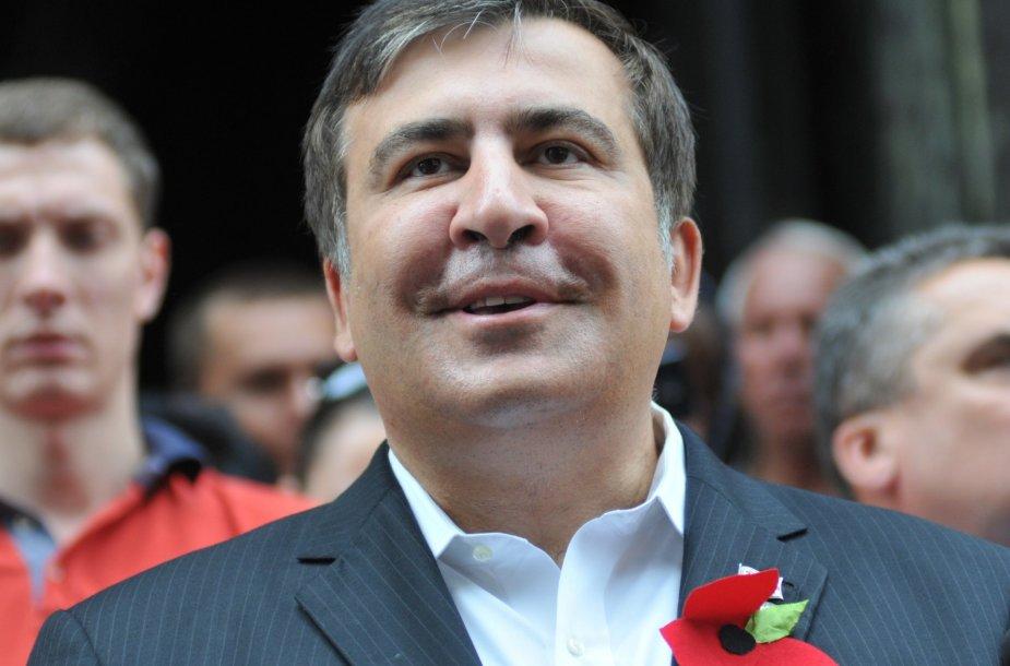 Buvęs Gruzijos prezidentas Michailas Saakašvilis.