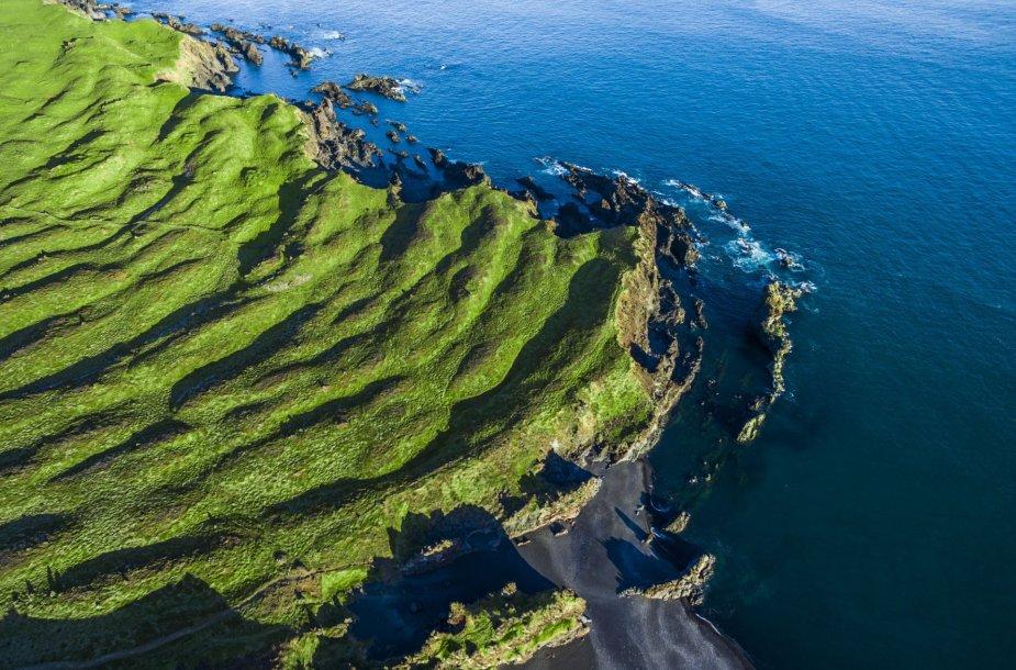 Islandijos peizažai