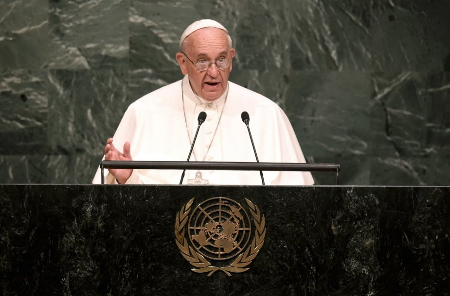 Popiežius Jungtinės Tautose