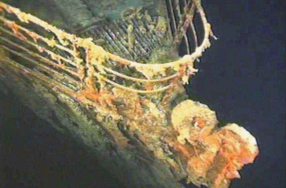 """""""Titanikas"""" nuskendo 1912 metų balandį."""