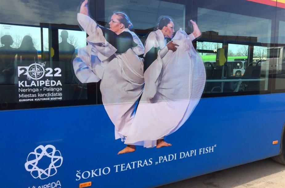 Klaipėdos autobusai atkreips praeivių žvilgsnius.