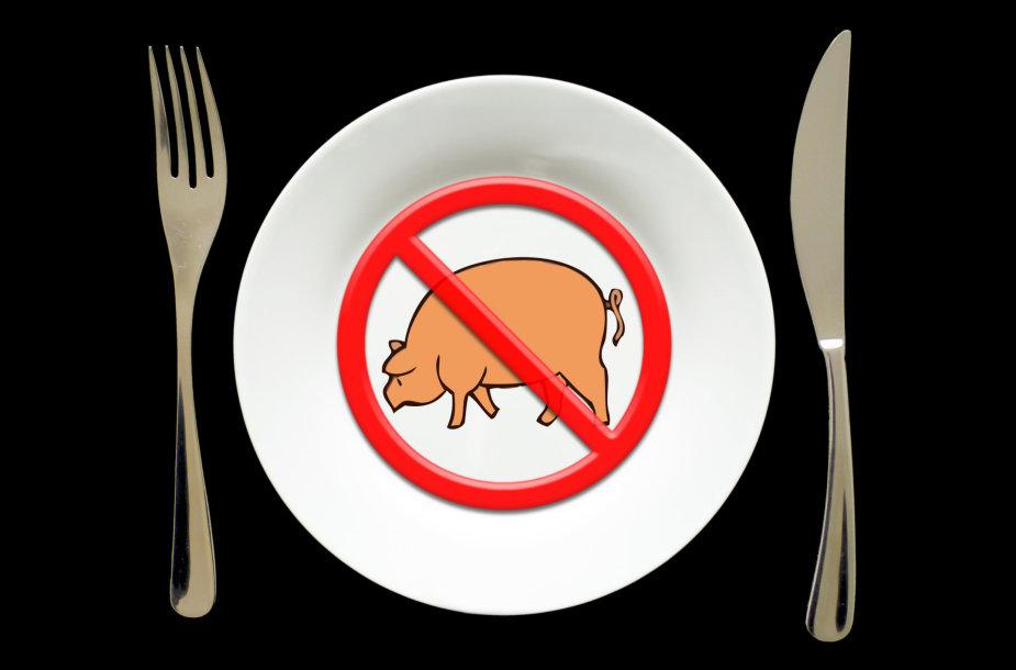 Kai nesinori mėsos...