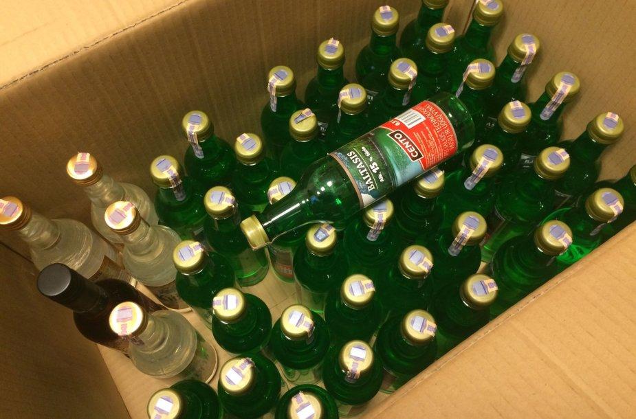 Policijos rastas alkoholis