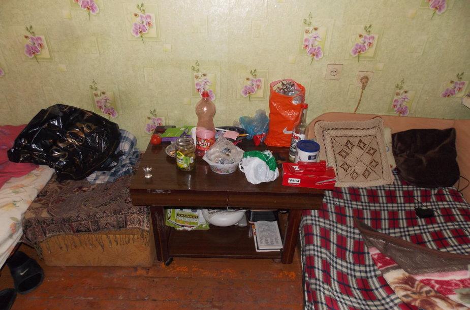 Plėšikai buvo sulaikyti bute Šilutėje