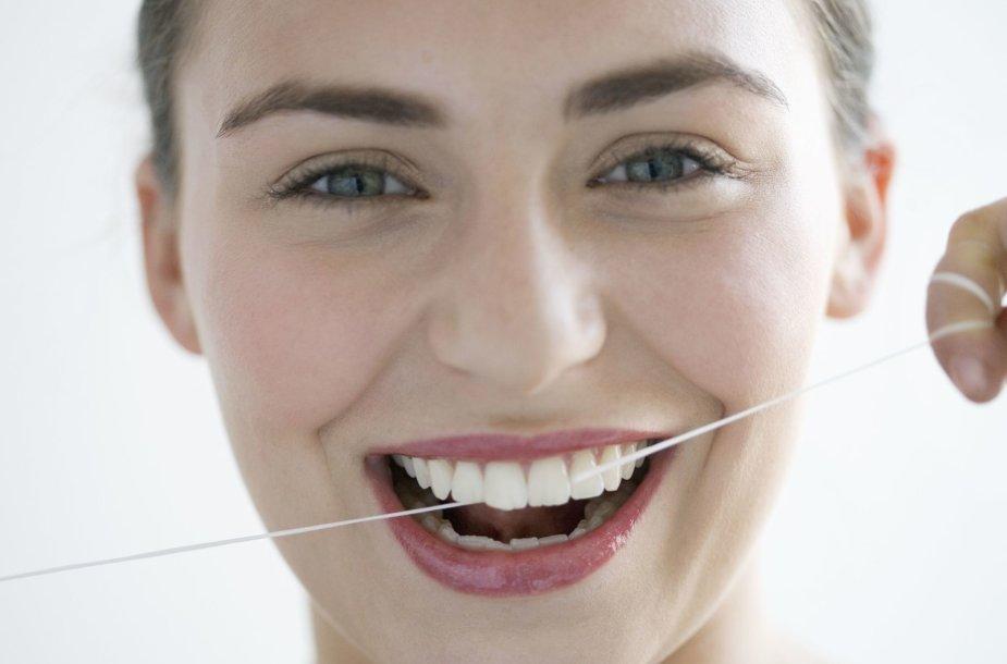 Dantų siūlas