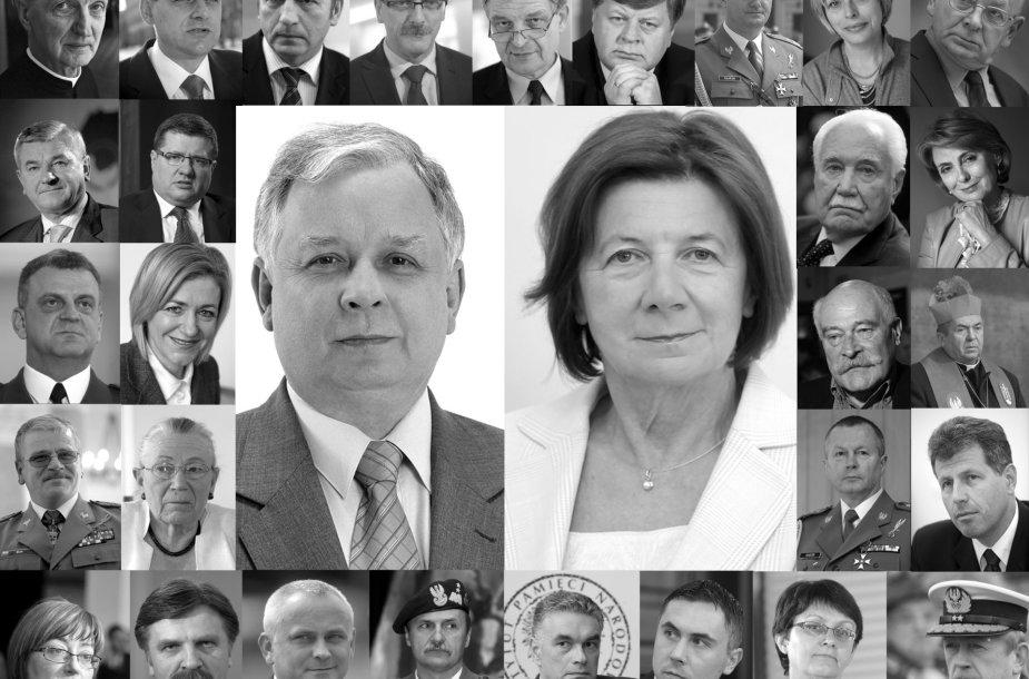 Žuvusieji per aviakatastrofą Smolenske