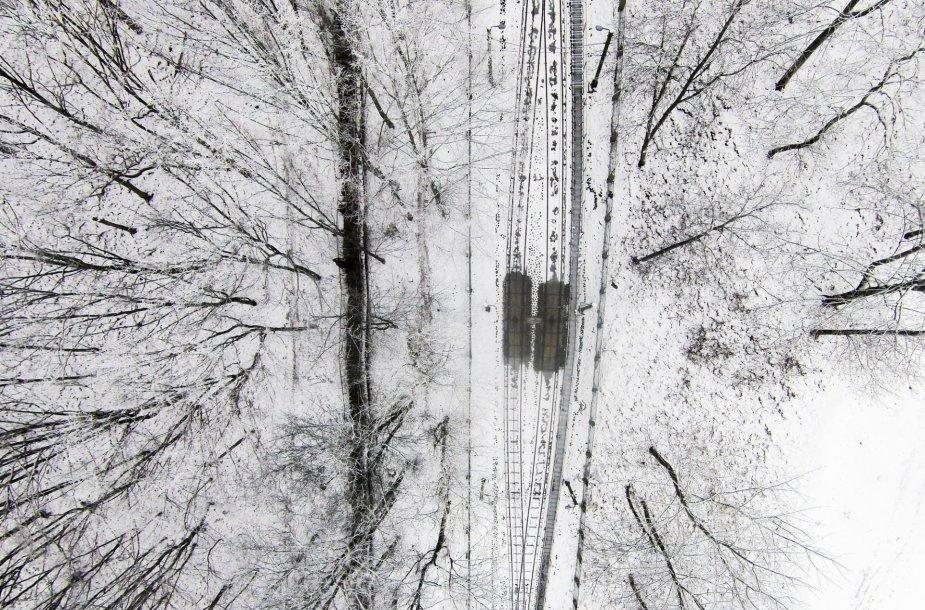 Žiemiškas Kaunas