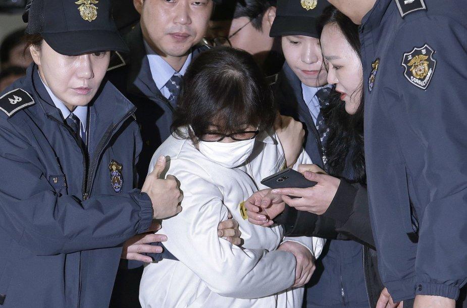 Sulaikyta Pietų Korėjos skandalo dalyvė