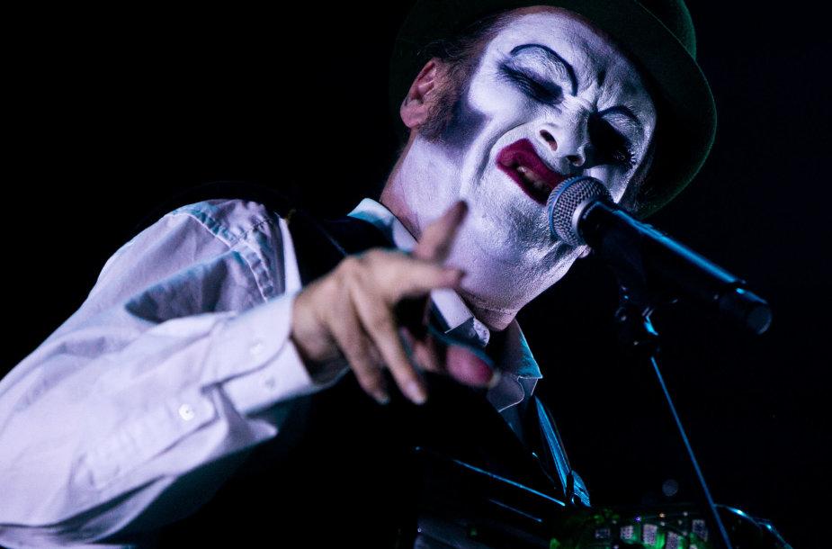 """""""The Tiger Lillies"""" koncerto Vilniuje akimirka"""