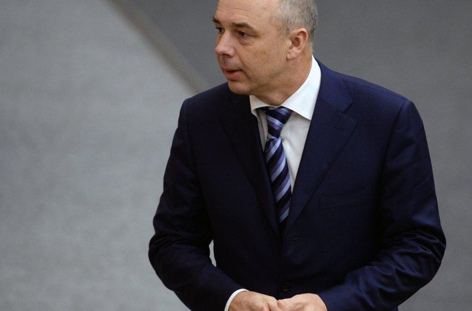 Rusijos finansų ministras Antonas Siluanovas