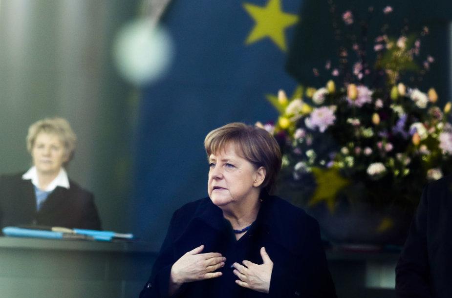 Vokietijos kanclerė Angela Merkel – vienas pagrindinių Rusijos taikinių