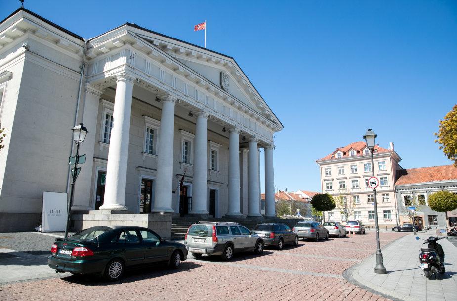 Transporto eismas Vilniaus senamiestyje
