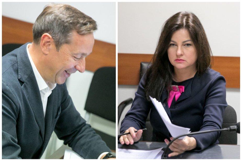 Artūras Zuokas ir Agnė Zuokienė