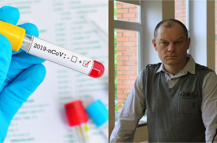 A.Lobovas bando įtikinti, kad COVID-19 mažiau pavojingas už sezoninį gripą
