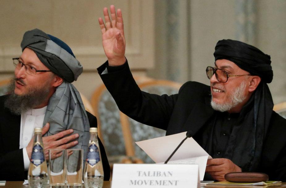 Talibano atstovai konferencijoje Rusijoje