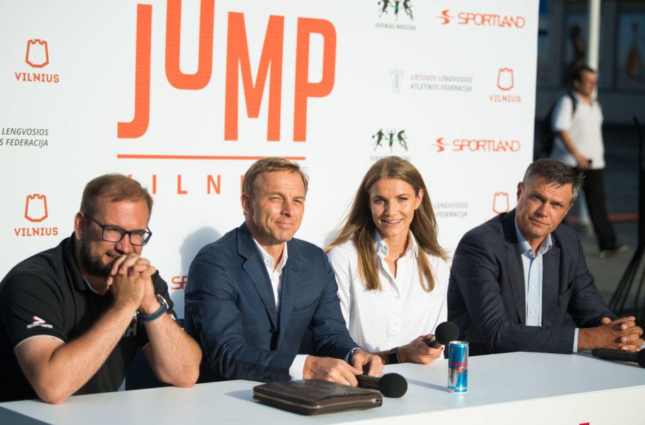 """Jump Vilnius"" konferencijos akimirka"