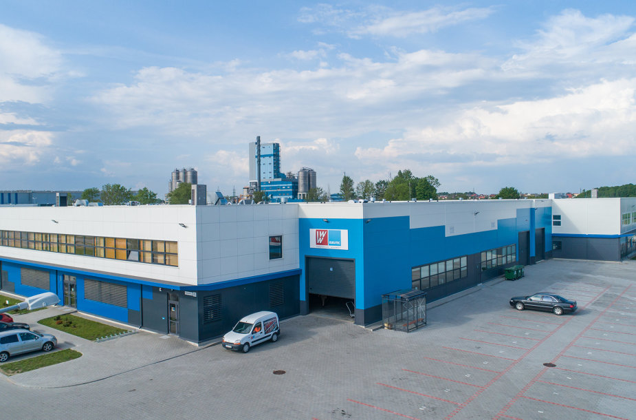 """Baltijos Eukuteco"" gamykla Klaipėdos LEZ"