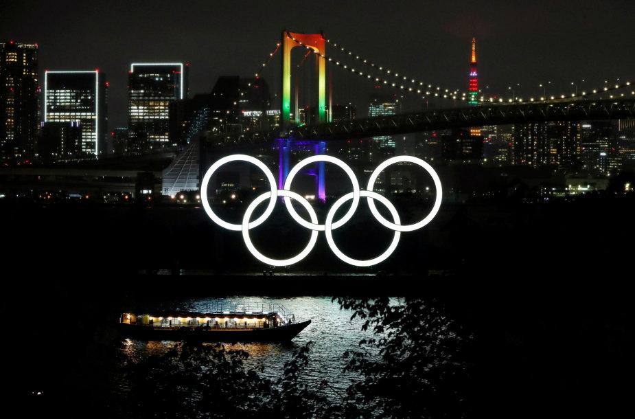 Tokijas ruošiasi Olimpiadai
