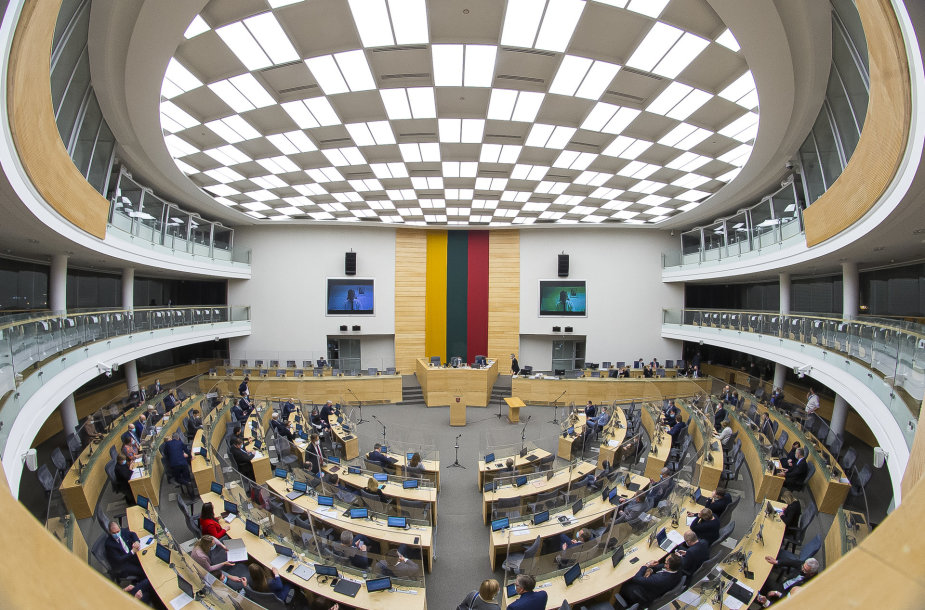 Seimo plenariniame posėdyje A.Dulkio atsakymai į parlamentarų klausimus