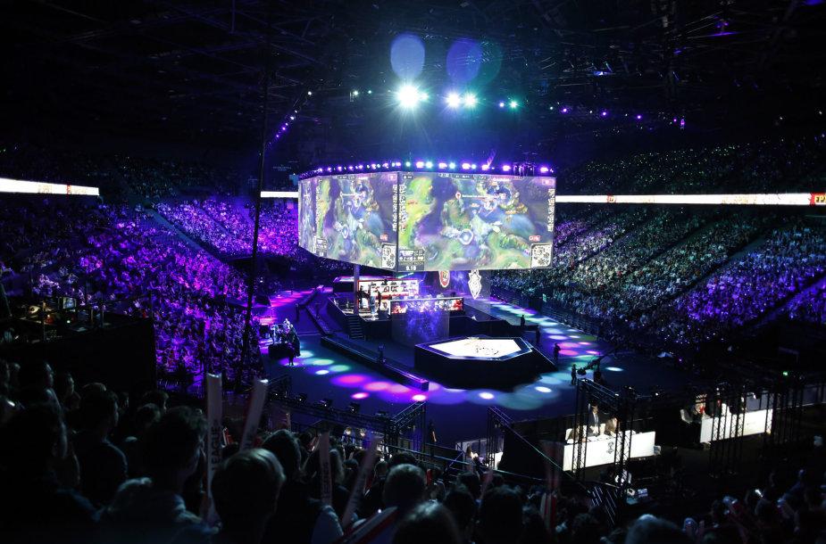 """""""League of Legends"""" pasaulio čempionato finalas"""