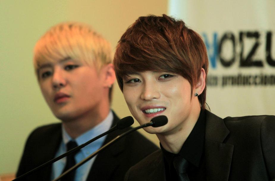 K-Pop  žvaigždė Kimas Jaejoongas