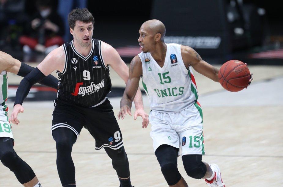 Kazanės UNIKS gynėjas Jamaras Smithas tapo Europos taurės MVP.