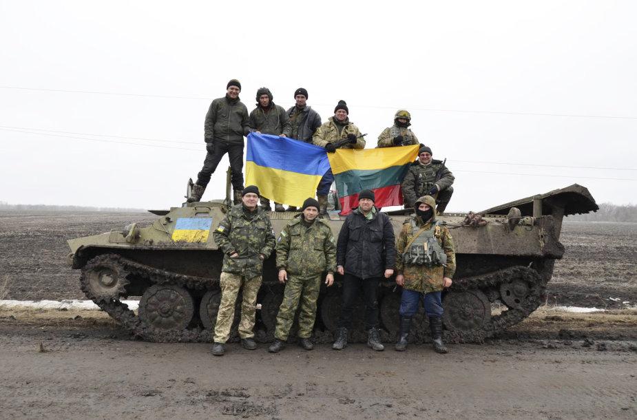Karo zonoje, Ukrainoje.