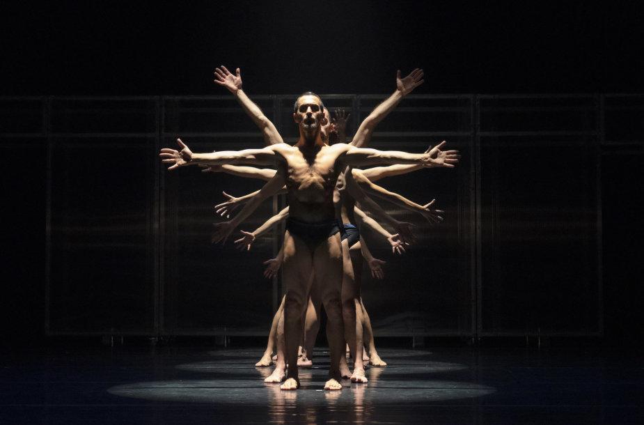 "Spektaklis ""Leonardo da Vinci: Anatomie Spirituali"""