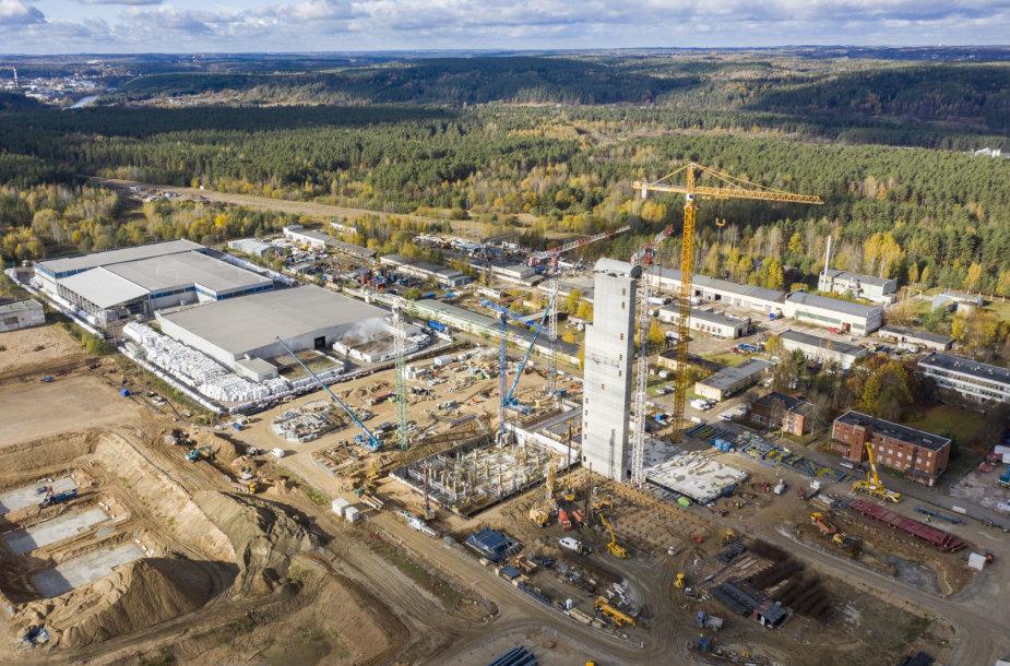 Atliekų deginimo jėgainės statybos Vilniuje