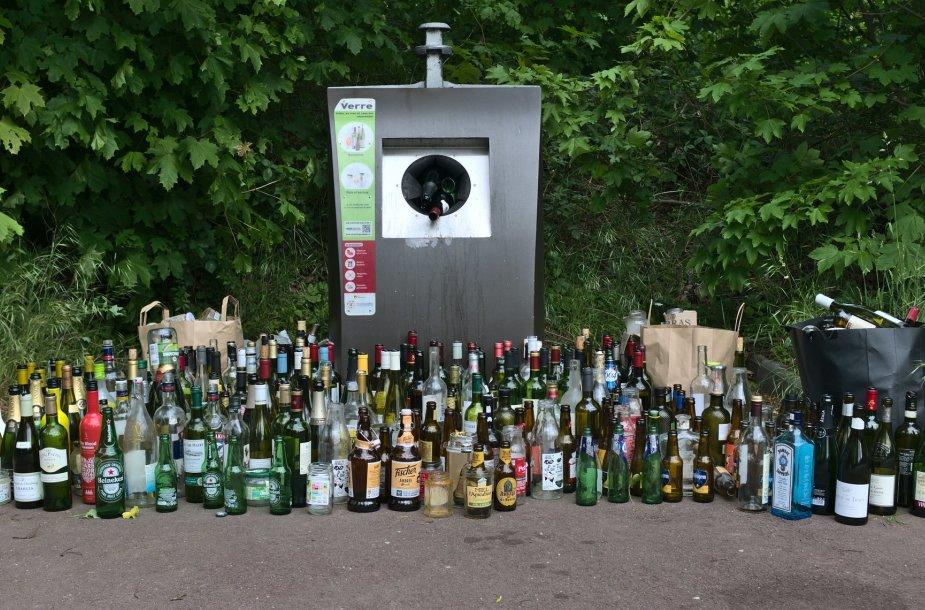 Alkoholio buteliai