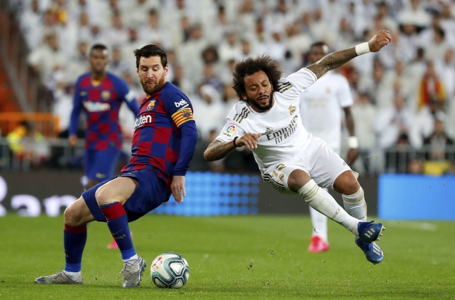 Lionelis Messi ir Marcelo