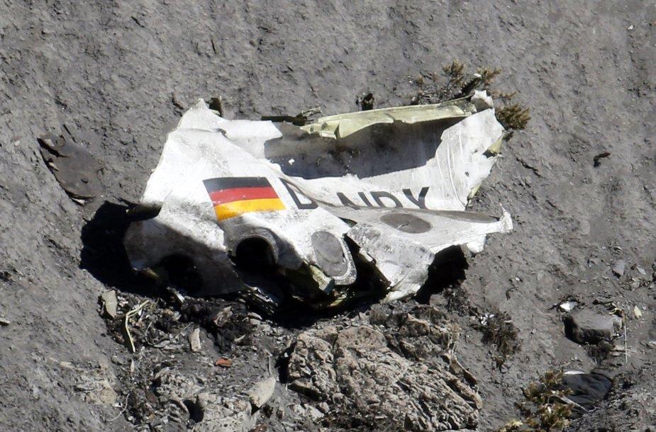 """""""Germanwings"""" lėktuvo katastrofos vieta"""