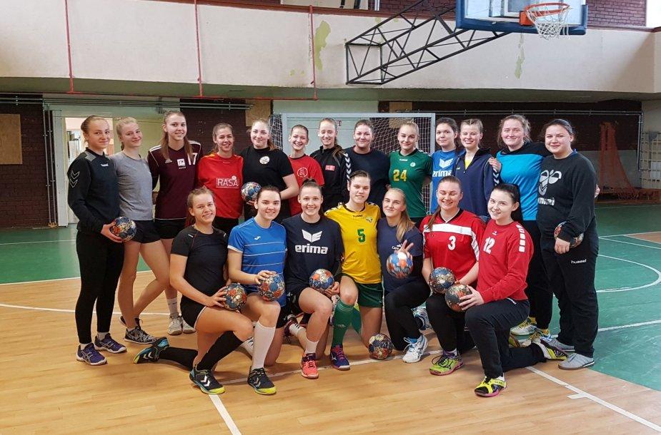 2017 m. Lietuvos U-19 merginų rankinio rinktinė