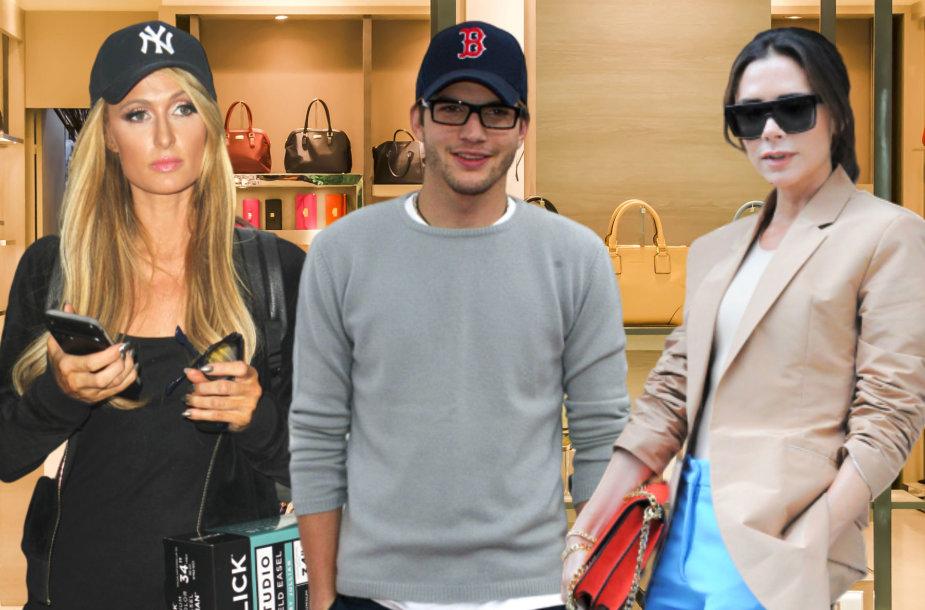 Paris Hilton, Ashtonas Kutcheris, Victoria Beckham